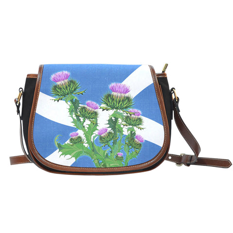 Scotland Saddle Bag - Thistle Flag | Hot Sale