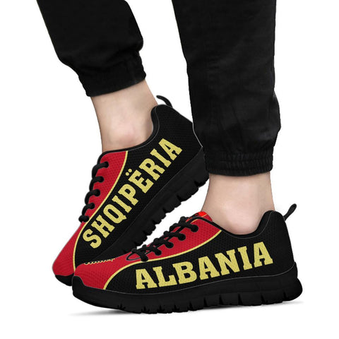 Image of Albania Sneakers - Gel Style - J6 - Black Sole