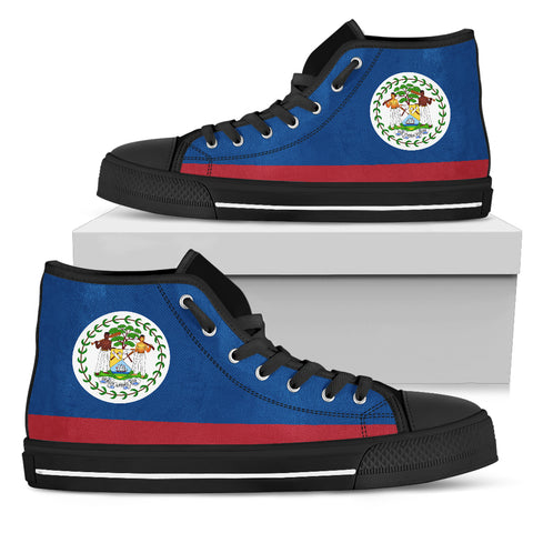 Image of Belize High Top Canvas Shoes - Belize Men'S/Women'S Shoes H4 |Footwear| Love The World