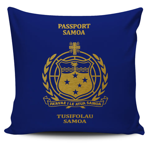 Samoa Pillow Cover - Passport Version - Bn04