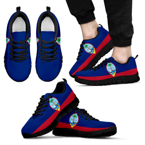 guam island flag men's/women's sneakers (shoes)