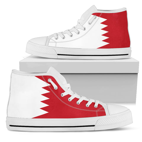 Bahrain High Top Shoes Original Flag A7