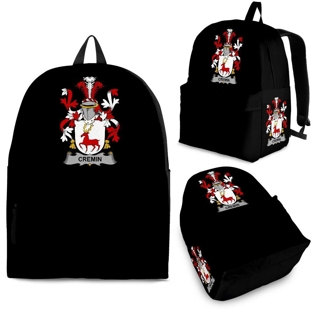 Cremin or O'Cremin Ireland Backpack - Irish Family Crest | Over 1400 Crests | Bags | Back to School