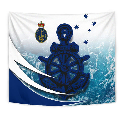 Image of Australia Royal Navy Tapestry - Ocean Is Home