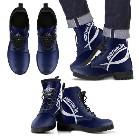 Australia Active Leather Boots | Special Custom Design