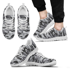 Camo Black Sneaker - Black And White Version - BN07