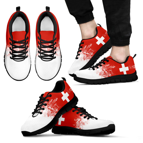 Image of Switzerland Flag Sneakers H4