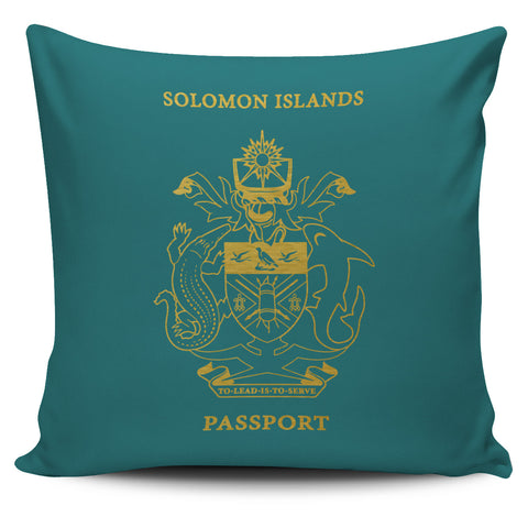 Solomon Islands Pillow Cover - Passport Version - Bn04