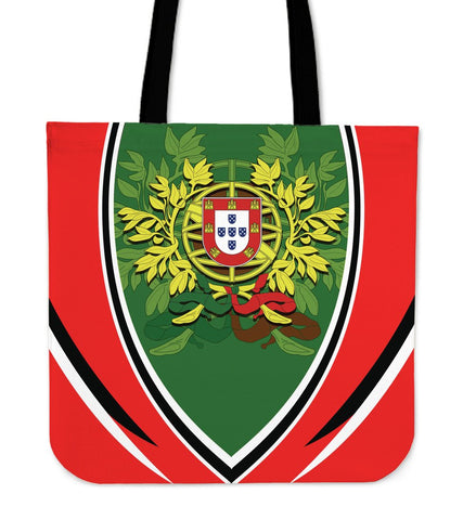 Portugal Tote Bags - Portugal Coat Of Arms