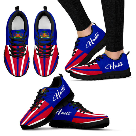 Haiti Coat Of Arms™ Sneakers K5