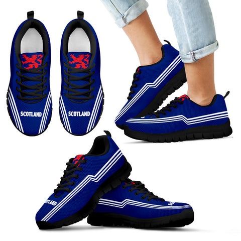 Scotland Sneakers Lion - Line Style