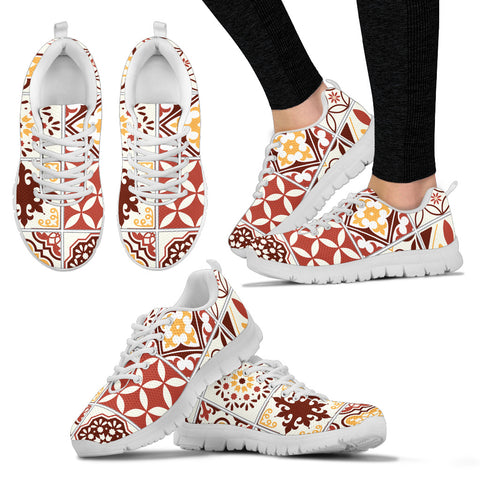 Image of Portugal Sneakers - Azulejos Pattern 13 Z3