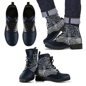 Tree of Life Unisex Leather Boots A0