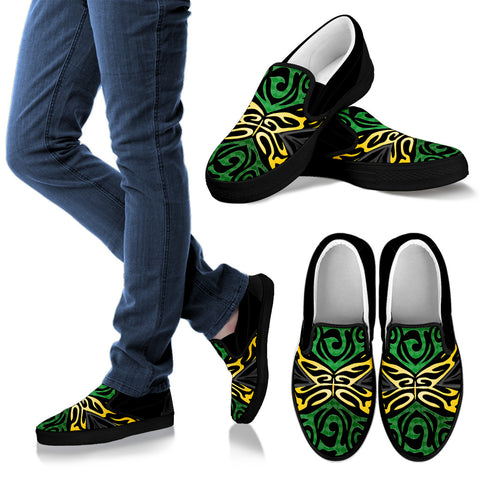 Image of Jamaica Slip Ons - Jamaican Special Flag - Men slip on - Women slip on
