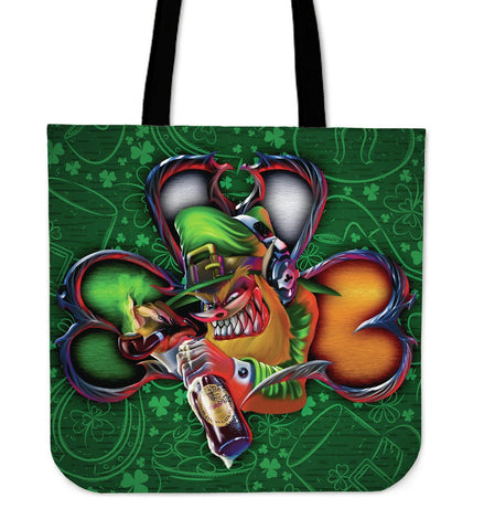 Ireland Tote Bags - Irish Pride Shamrock Patterns
