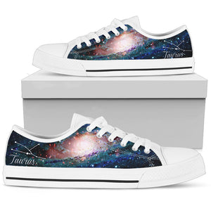 Taurus Low Top Shoes - Taurus Constellation