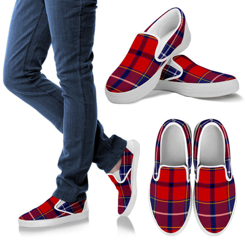 Tartan Slip Ons - Wishart Dress  | 1sttheworld.com