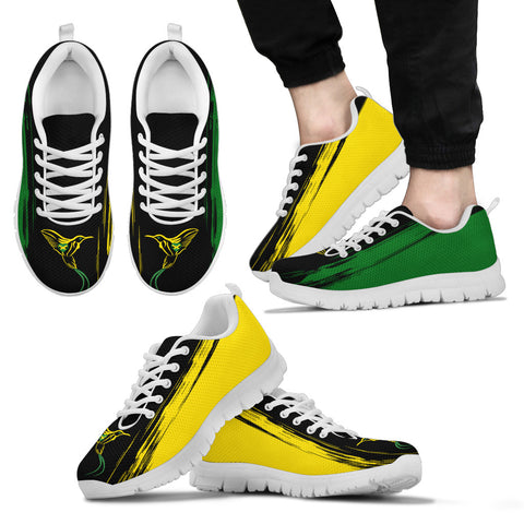 Jamaica Flag And Doctor Bird Sneakers H1