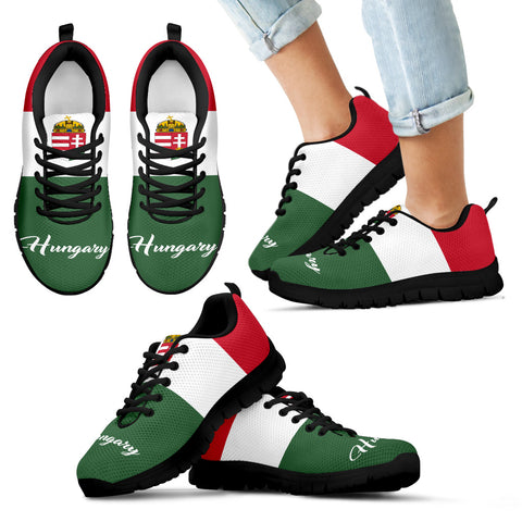 Hungary Sneakers - Hungarian Shoes Flag K5