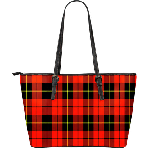 Wallace Hunting - Red Tartan Handbag - Large Leather Tartan Bag Th8 |Bags| Love The World