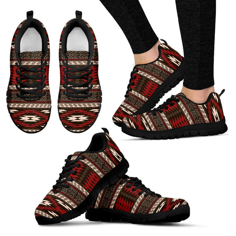 Image of Native American Pattern Sneakers - BN02