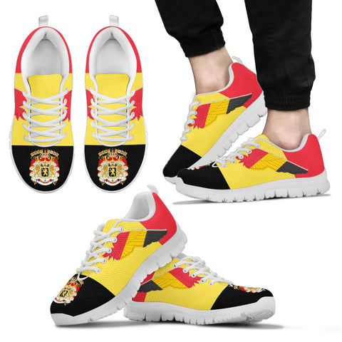 Image of Coat Of Arms Belgium Sneakers Flying K4