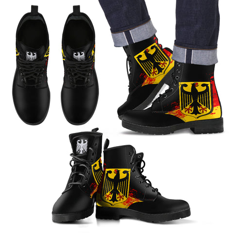 Germany Special Leather Boots A7 |Footwear| Love The World