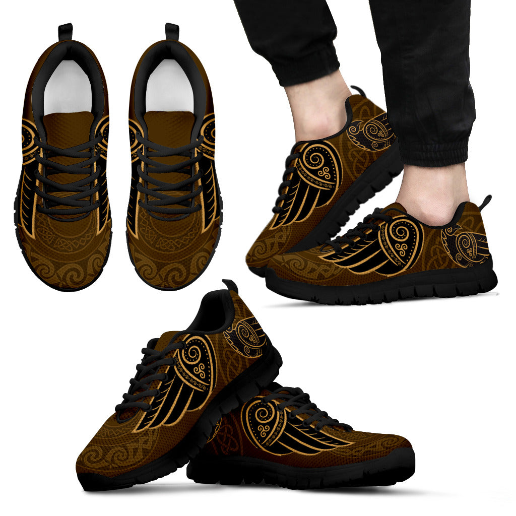 8e63874d3c96 The Raven S Wings In Celtic Men S   Women S Sneakers (Shoes) NN8. Tap to  expand