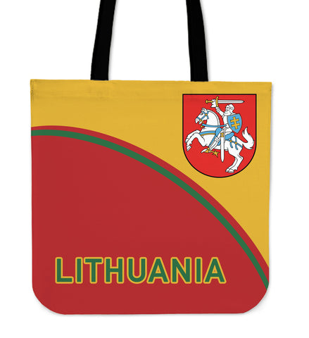 Lithuania Tote Bag - Curve Version