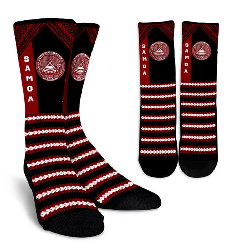 Seal of American Samoa Crew Socks