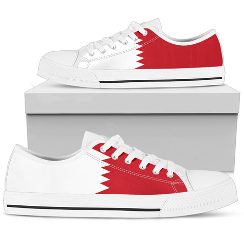 Bahrain Low Top Shoes Original Flag A7