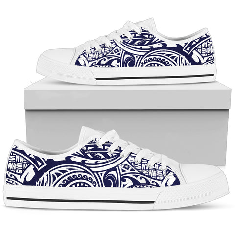 Hawaii Turtle Low Top Shoe - Polynesian Style Bn10