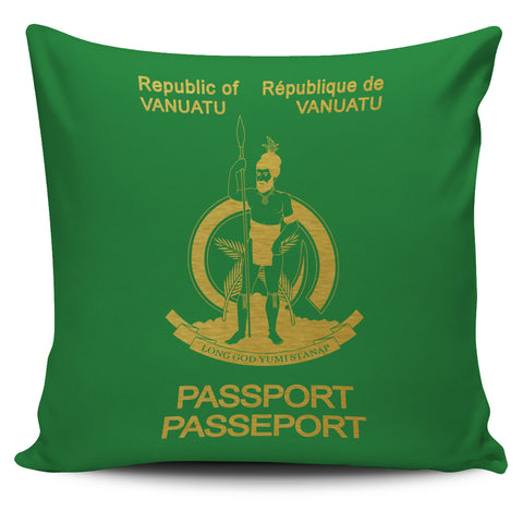 Vanuatu Pillow Cover - Passport Version - Bn04