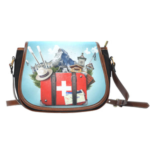 Swiss Travel Saddle Bag K4