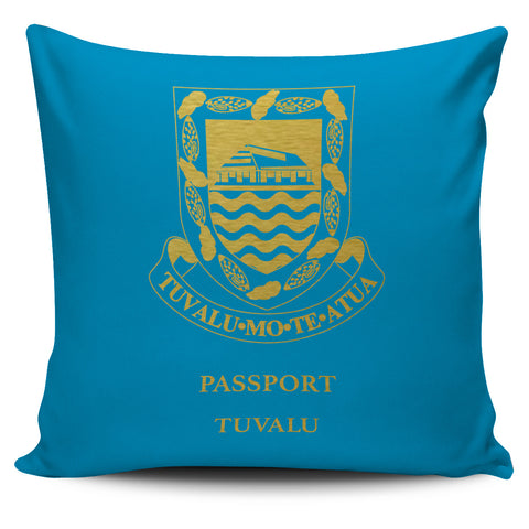 Tuvalu Pillow Cover - Passport Version - Bn04