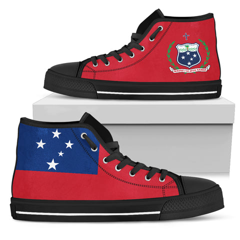 Image of Samoa High Top Canvas Shoes K5 |Footwear| Love The World