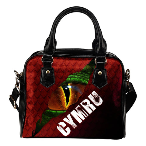 Welsh Shoulder Handbag - Dragon Eyes | Clothing | Love The World
