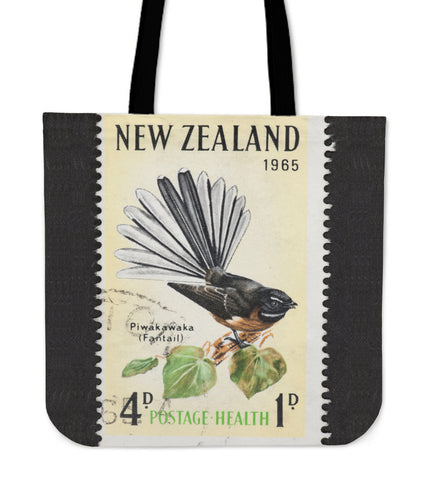 Image of New zealand stamp tote bag 4 K5