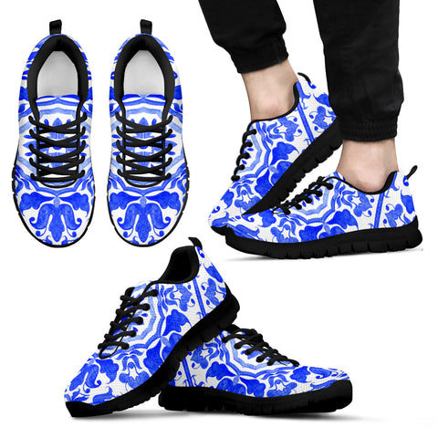 Portugal Sneakers - Azulejos Pattern 02 Z3