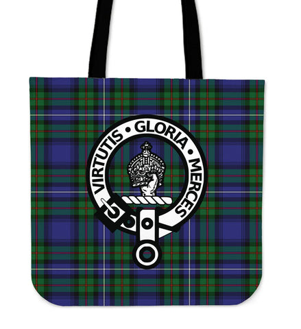 Tartan Tote Bag - Donnachaidh Clan Badge | Special Custom Design