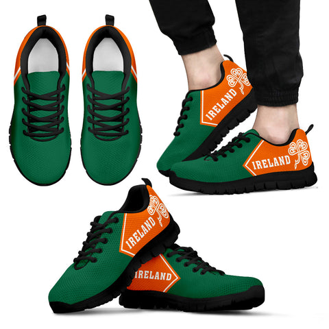Ireland Flag Sneakers - No Style