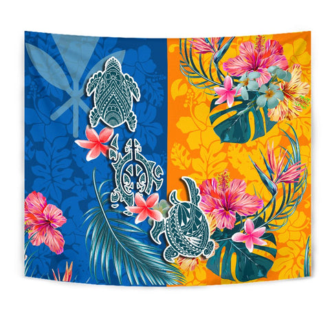 Hawaii Tapestry Polynesian Turtle Special | 1sttheworld