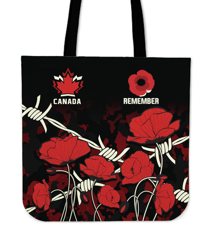 Canada Tote Bag - Remembrance Day