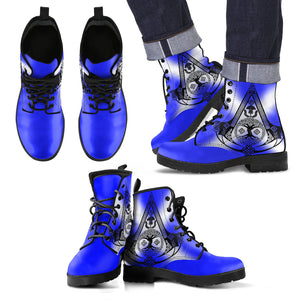 Celtic Boots - Celtic Thistle (Mens/Womens Leather Boot) A4