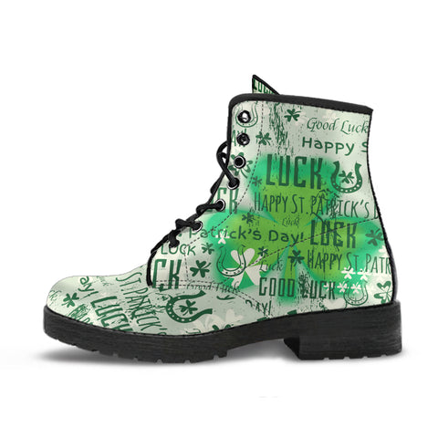 Ireland Boots - Happy St. Patrick's Day Boots