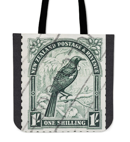 Image of New zealand stamp tote bag 2 K5