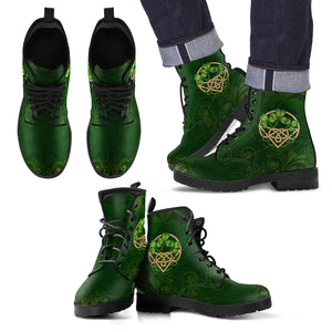 Celtic Leather Boots H9