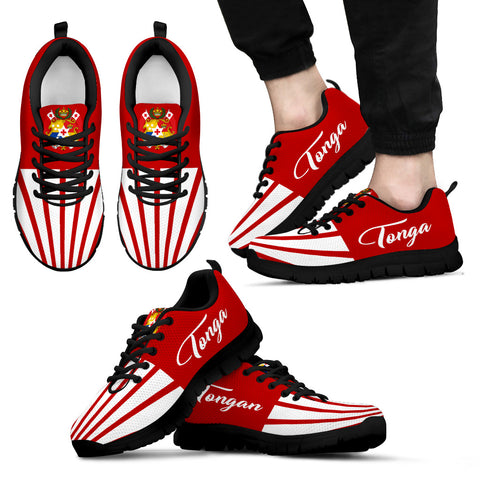 Tonga Coat Of Arms Sneakers K5 | 1sttheworld.com
