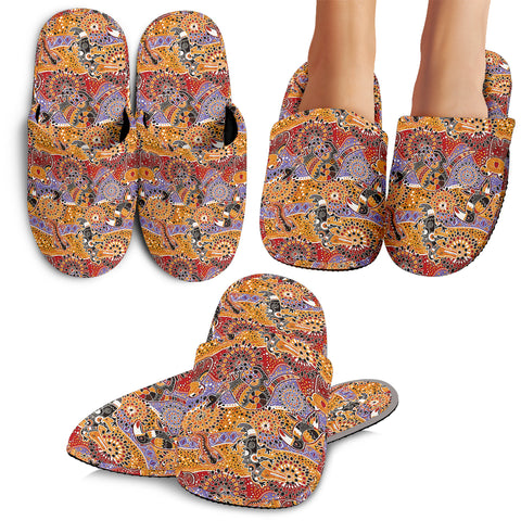 Australia Animals Bohemian Slippers TH7