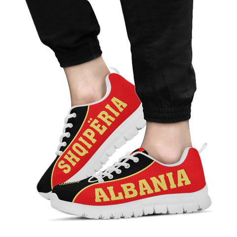 Albania Sneakers Ver 1.0 - Gel Style - White Sole